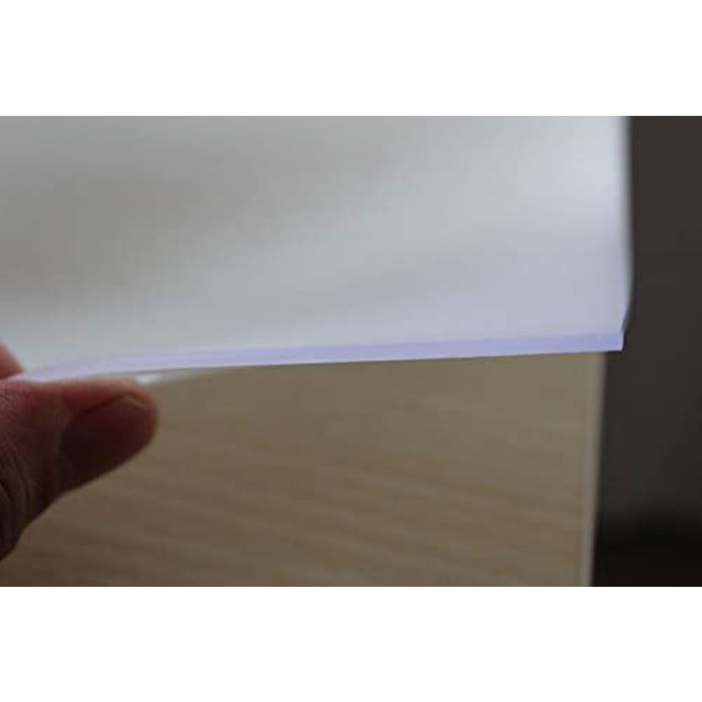 Tischfolie PVC transparent matt