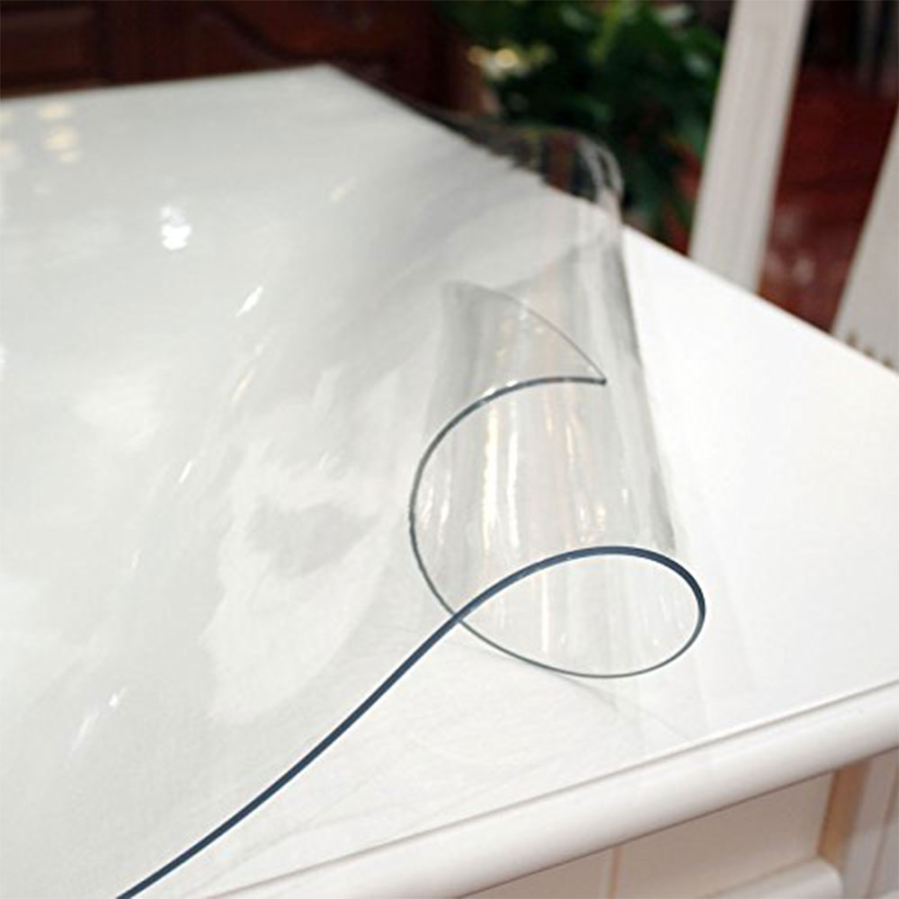 Tischfolie PVC transparent hochglanz